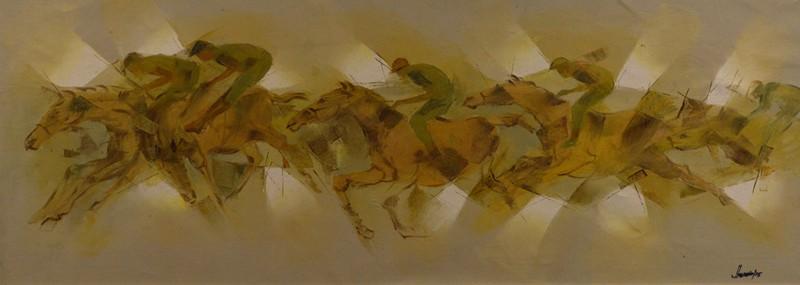 Jahangir Hossain Large Painting