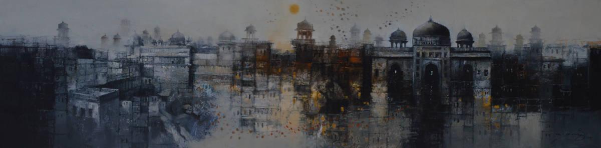Aq arif oil on canvas