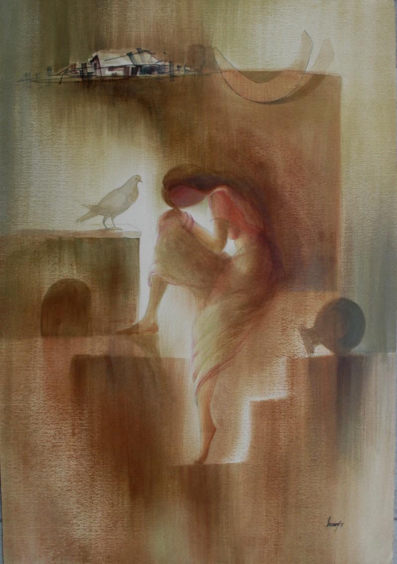 Jahangir Hussain Paintings