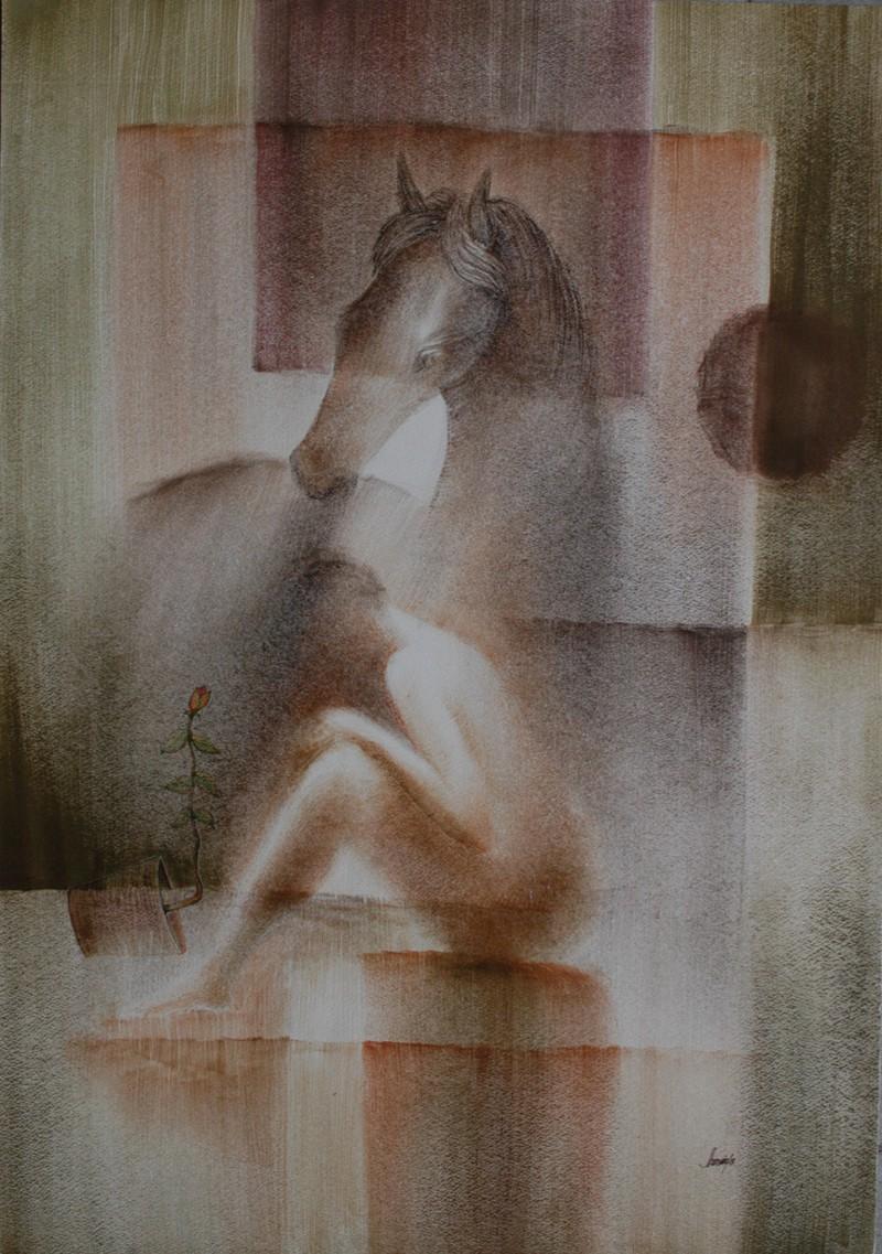 Jahangir Hossain Painting