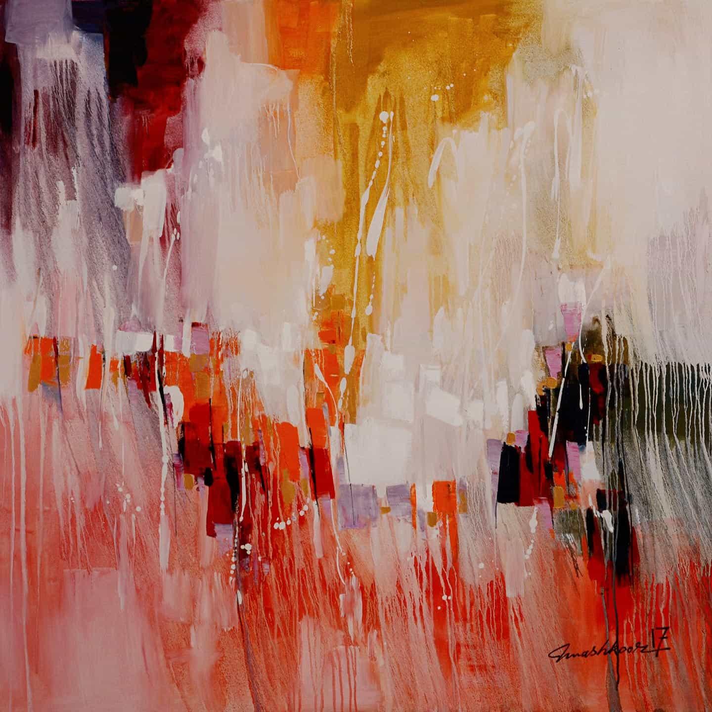Mashkoor Raza Abstract Painting