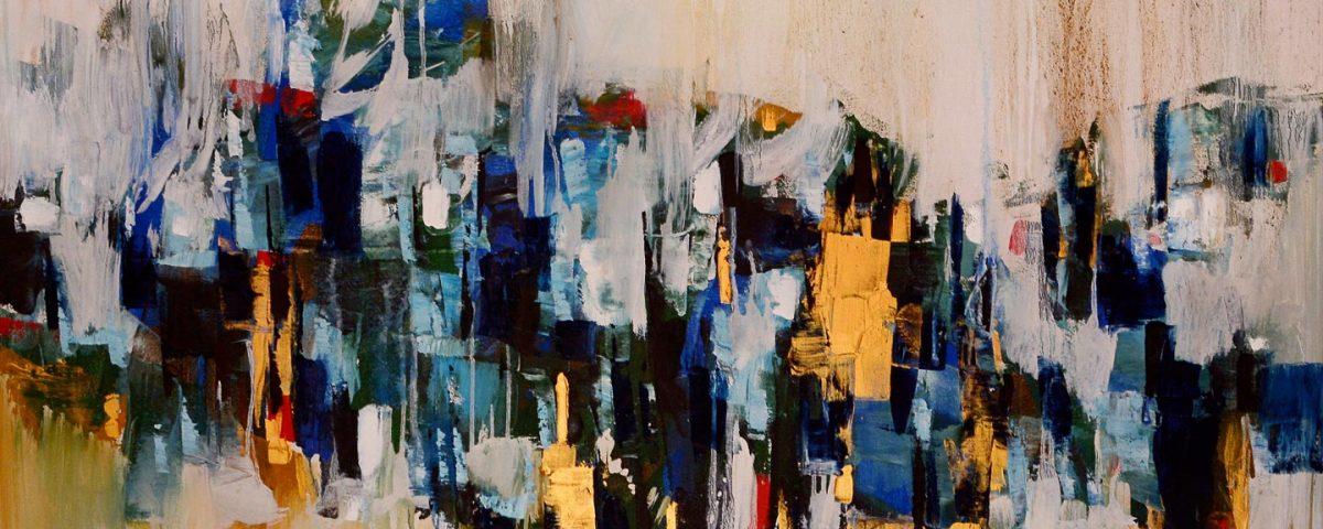 Mashkoor Raza Oil On Canvas Painting