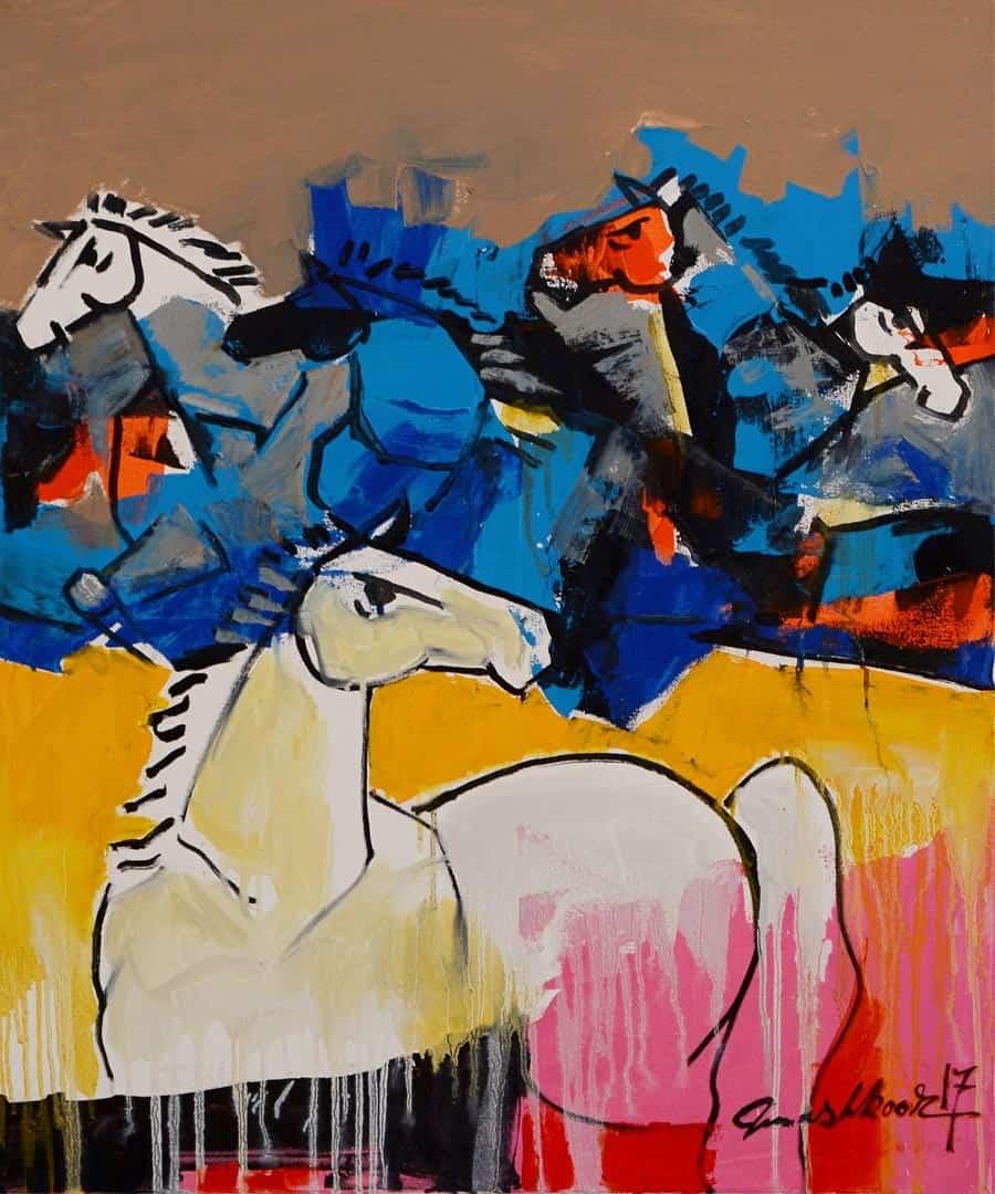 Mashkoor Raza Wild Horses