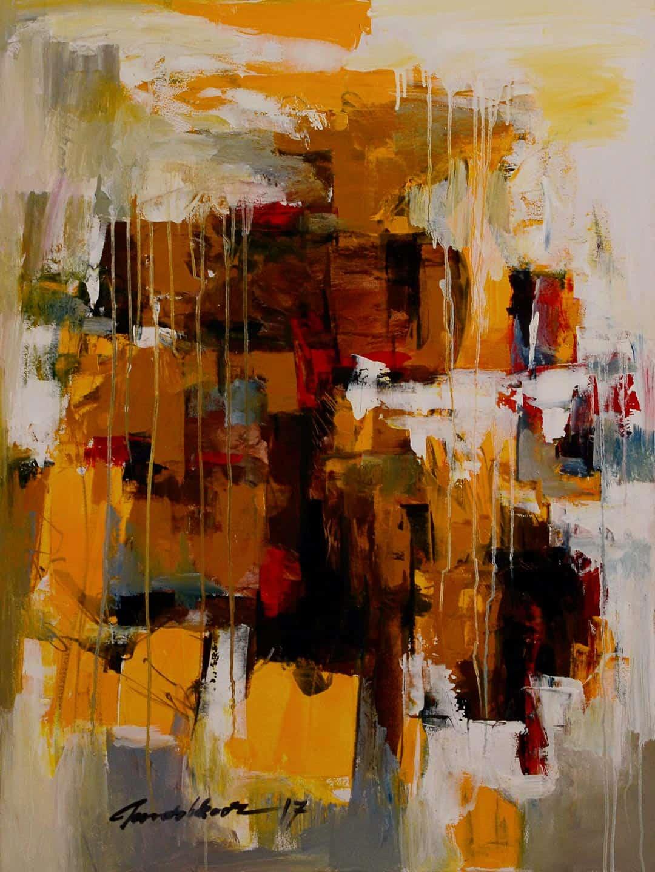 Mashkoor Raza Abstract