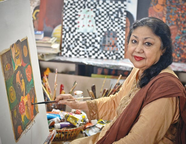 Nahid Raza Painting