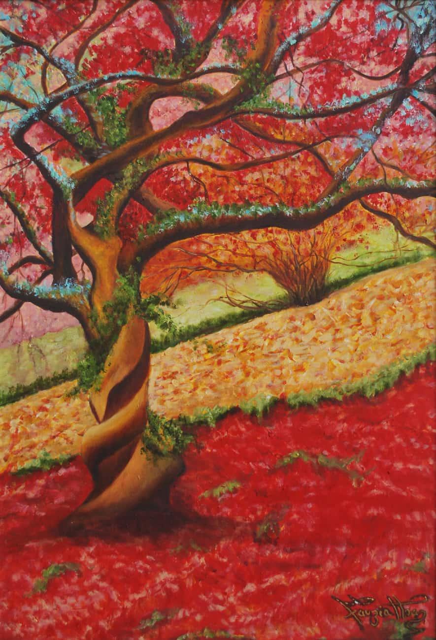 Fauzia Khan painting